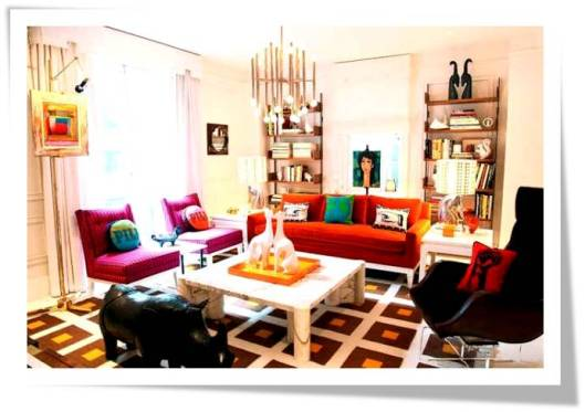Michael Raun Home INterior design and decorating: Jonathan Adler 2